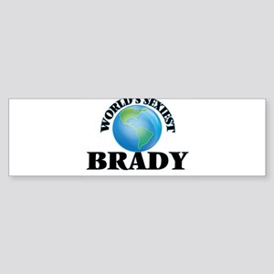 World's Sexiest Brady Bumper Sticker