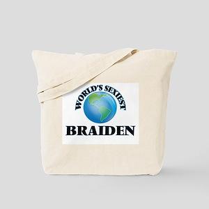 World's Sexiest Braiden Tote Bag