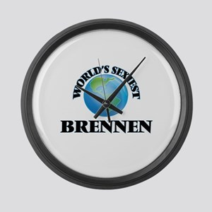 World's Sexiest Brennen Large Wall Clock