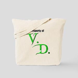 Property of V.D. Tote Bag