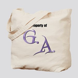 Property of G.A. Tote Bag