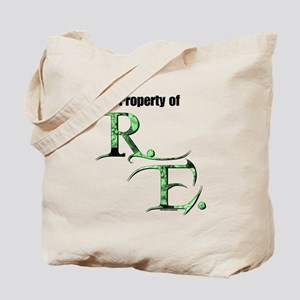 Property of R.E. Tote Bag