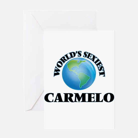 World's Sexiest Carmelo Greeting Cards