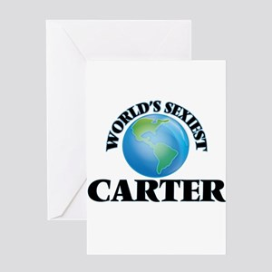 World's Sexiest Carter Greeting Cards