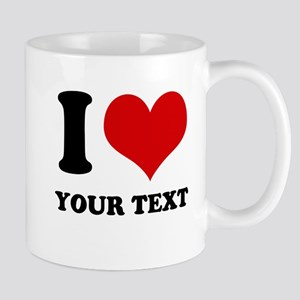 personalized I love Mug
