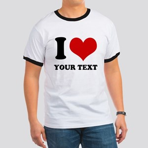 personalized I love Ringer T