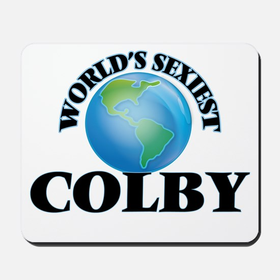 World's Sexiest Colby Mousepad