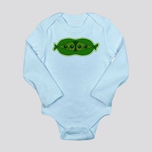 TWO PEAS IN A POD TWIN BABIES Body Suit