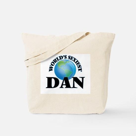 World's Sexiest Dan Tote Bag