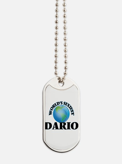 World's Sexiest Dario Dog Tags
