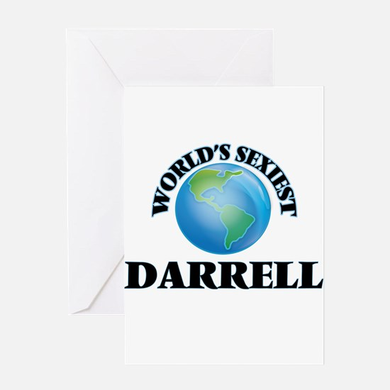 World's Sexiest Darrell Greeting Cards