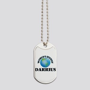World's Sexiest Darrius Dog Tags