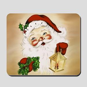 Vintage Santa 2 Mousepad