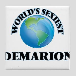 World's Sexiest Demarion Tile Coaster