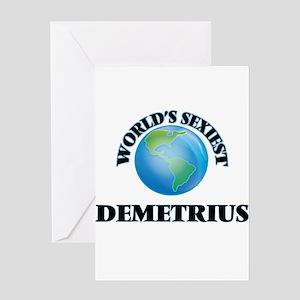 World's Sexiest Demetrius Greeting Cards