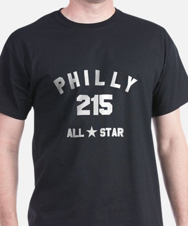 """PHILLY 215 ALL-STAR"" T-Shirt"