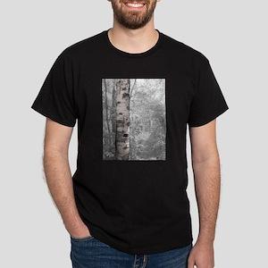 Birch Tree In Forest T-Shirt
