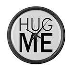 Hug me Large Wall Clock