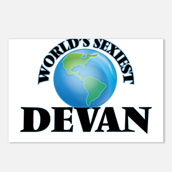 World's Sexiest Devan Postcards (Package of 8)
