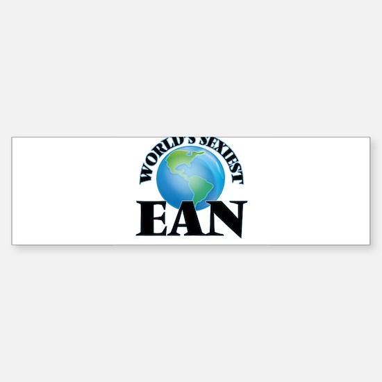 World's Sexiest Ean Bumper Bumper Bumper Sticker
