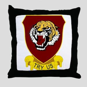 141st Field Artillery Regiment Throw Pillow