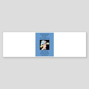 Hip-A-Dee-Doo-Dah Bumper Sticker