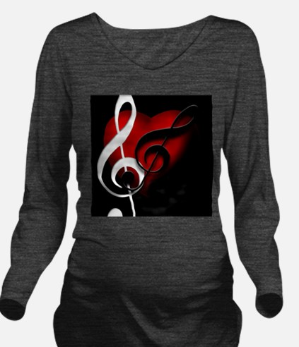 Heart and Clefs Apparel Ash Grey T-Shirt
