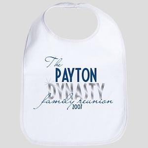 PAYTON dynasty Bib