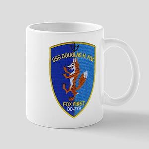 USS DOUGLAS H. FOX 11 oz Ceramic Mug