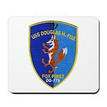 USS DOUGLAS H. FOX Mousepad