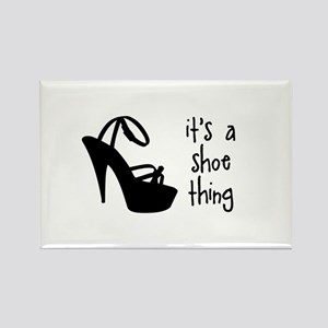 Shoe Thing Rectangle Magnet