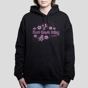 West Coast Swing Rules Women's Hooded Sweatshirt