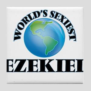 World's Sexiest Ezekiel Tile Coaster