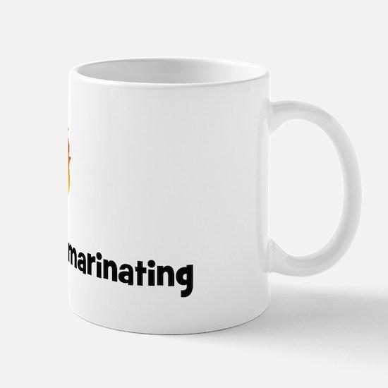 BBQ Fire: Im not aging im mar Mug