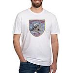 USS EVERETT F. LARSON Fitted T-Shirt