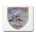 USS EVERETT F. LARSON Mousepad