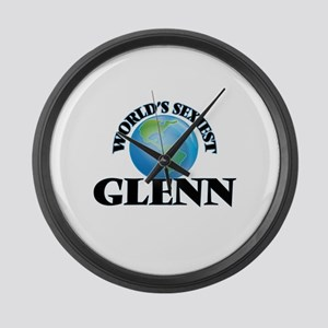 World's Sexiest Glenn Large Wall Clock