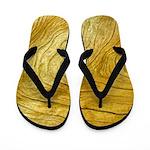 Golden Grain Flip Flops