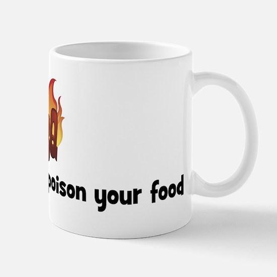 BBQ Fire: Do not make me pois Mug