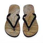 Natural Grain Flip Flops