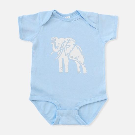 Elephant Silhouette Body Suit