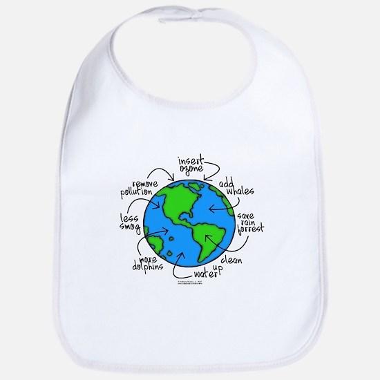 Planet Earth Bib