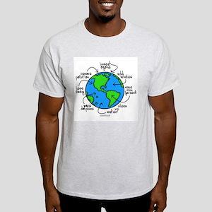 Planet Earth Light T-Shirt