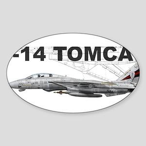 VF-154 Black Knights Rectangle Sticker