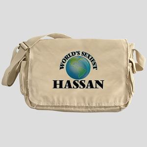 World's Sexiest Hassan Messenger Bag