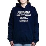 Aspergers Geek Women's Hooded Sweatshirt
