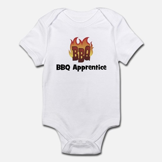 BBQ Fire: BBQ Apprentice Infant Bodysuit