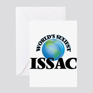World's Sexiest Issac Greeting Cards