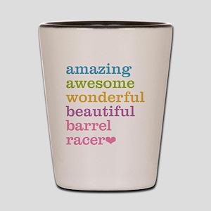 Barrel Racer Shot Glass