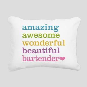 Amazing Bartender Rectangular Canvas Pillow